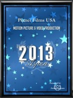 Planet Films in USA Receives 2013 Best of ASPEN AWARD